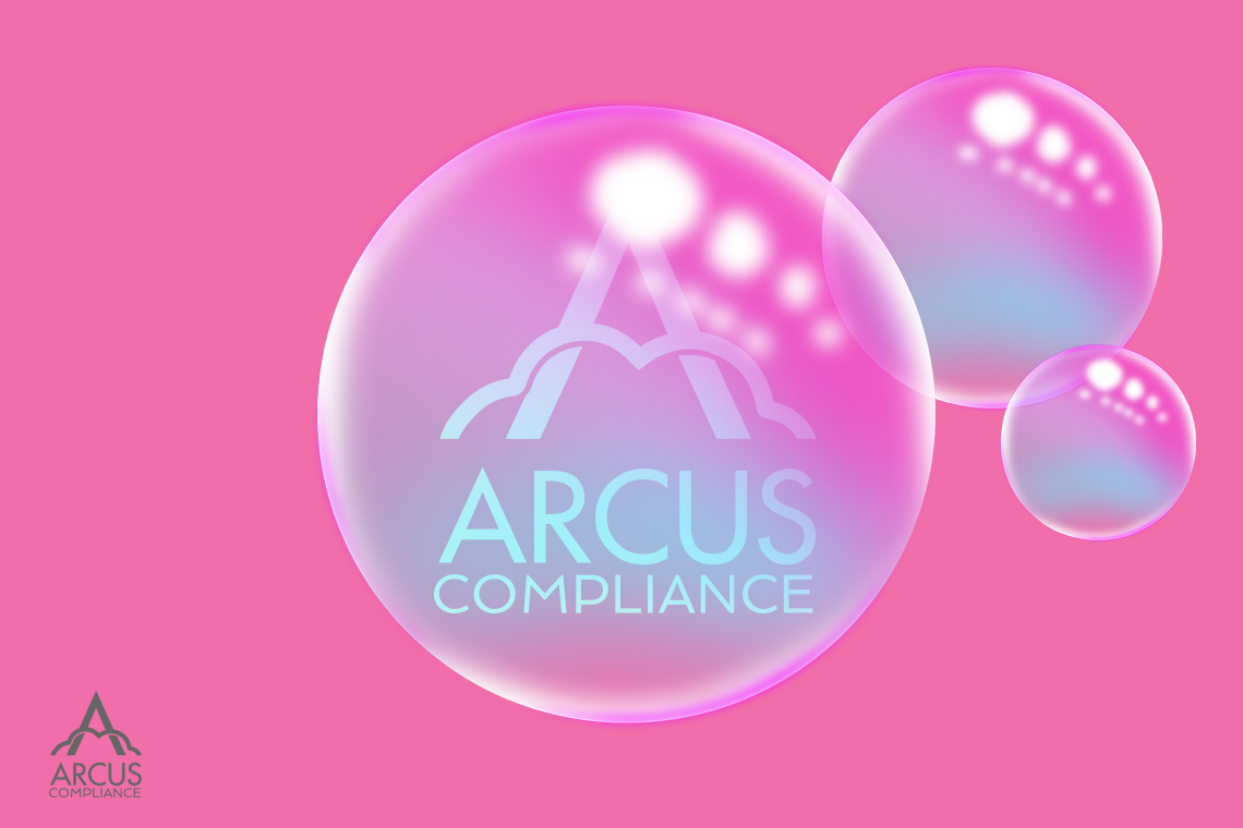 Arcus Compliance Logo in Bubble