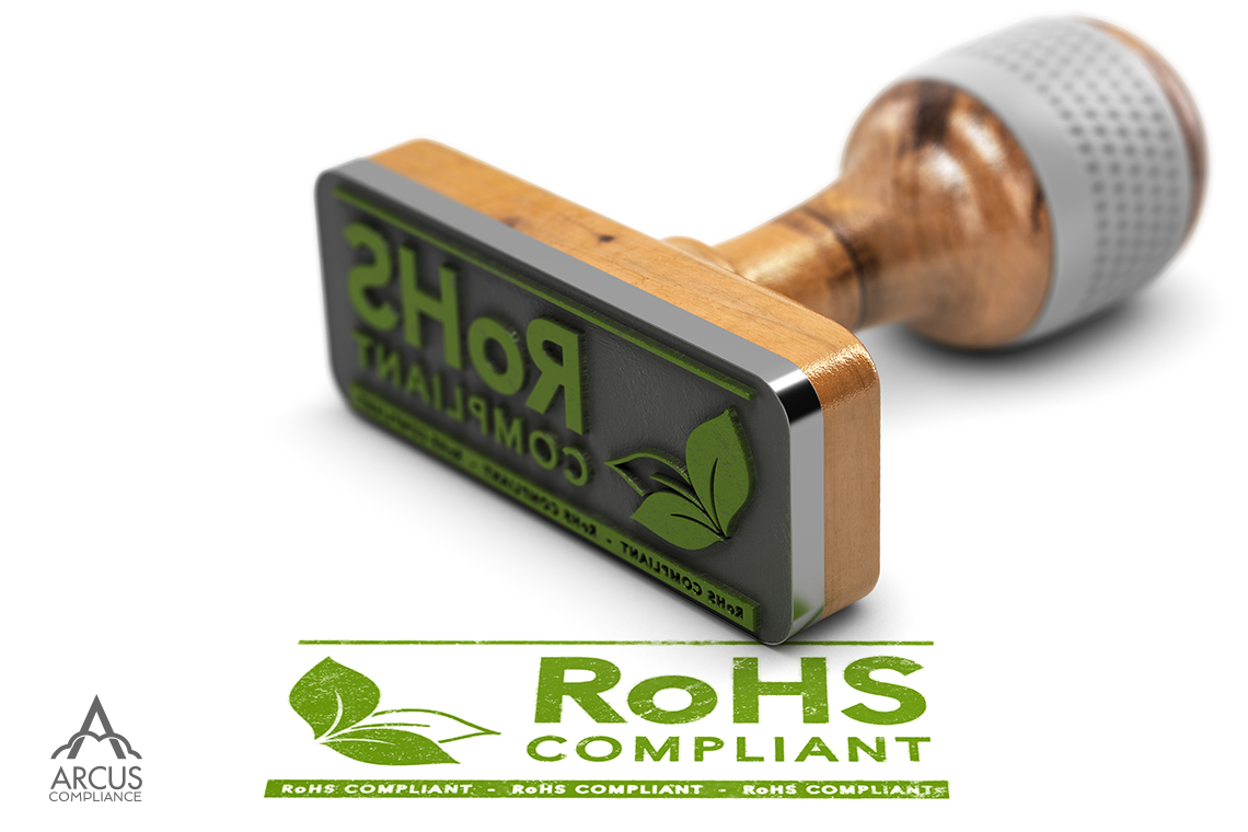Arcus Compliance RoHS logo Stamp