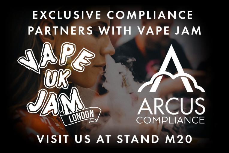 ARCUS COMPLIANCE - VAPE JAM 2019