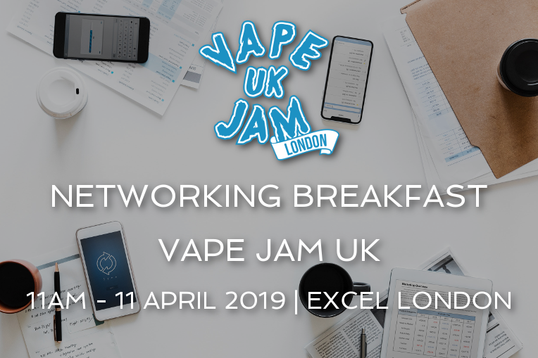 ARCUS COMPLIANCE - VAPE JAM NETWORKING BREAKFAST